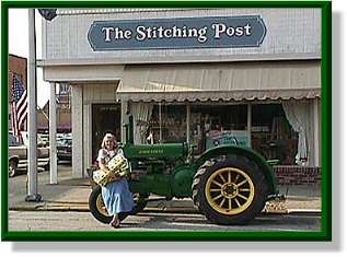 The Stitching Post - Mary Dell Memring Owner